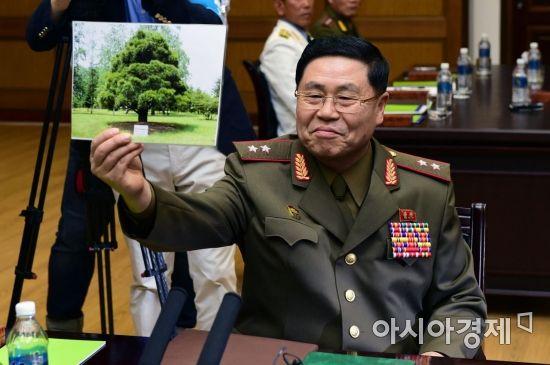 [포토] 노무현 전 대통령이 심은 소나무 사진