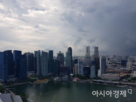 싱가포르 주요 도심