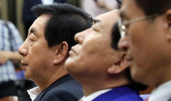 한국당, 계파 갈등 노골화…결별 수순 밟나
