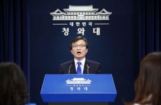 김의겸 청와대 대변인. 사진=연합뉴스