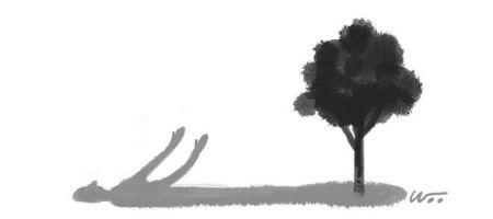 [오후 한 詩]참나무 아래 누워/김개미