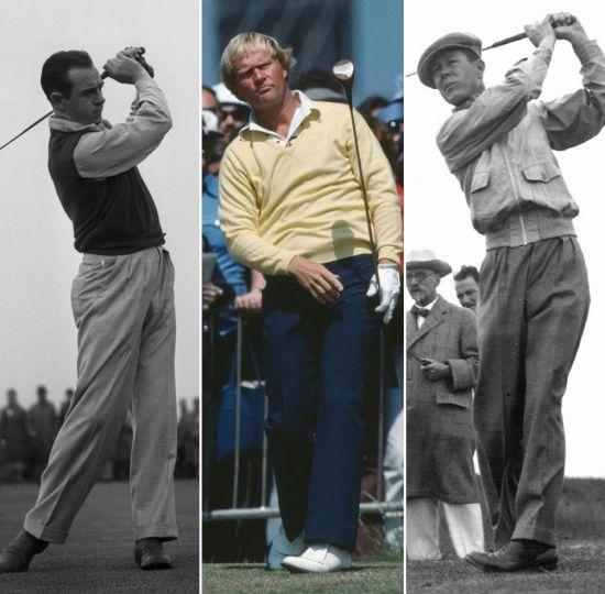 샘 스니드의 통산 82승과 잭 니클라우스 메이저 18승, 바이런 넬슨(사진 왼쪽부터) 11연승은 지구촌 골프역사상 '불멸의 기록'이다.