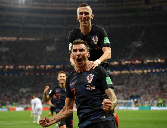 '만주키치 역전골' 크로아티아, 축구종가 잉글랜드 잡고 사상 첫 월드컵 결승행