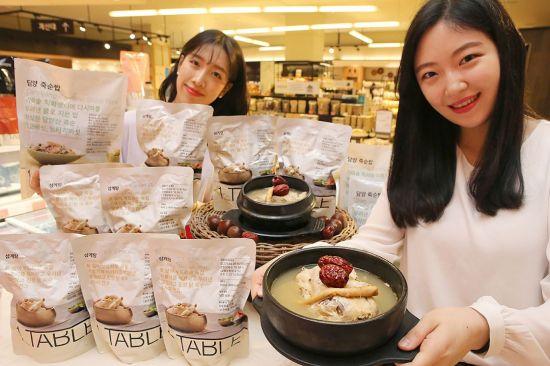 """""""초복 보양식도 간편하게""""…현대百 원테이블 보양식 2종 출시"""