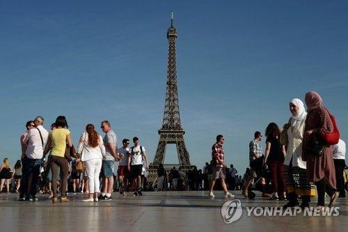 프랑스 파리 에펠탑. 사진=연합뉴스(AP)