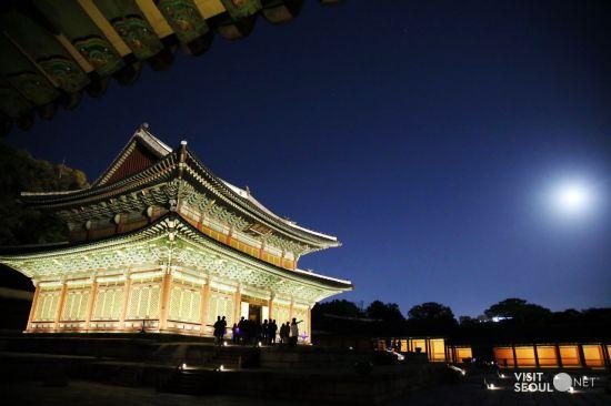 창덕궁의 야경 (사진=서울시 제공)