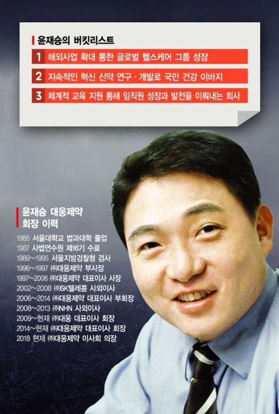 """윤재승 회장 """"IT벤처같은 제약사"""""""
