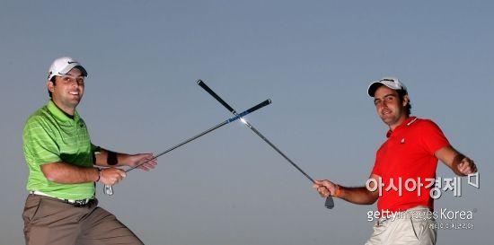 '디오픈 챔프' 프란체스코 몰리나리(왼쪽)와 형 에두아르도는 이탈리아를 대표하는 형제 골퍼다.
