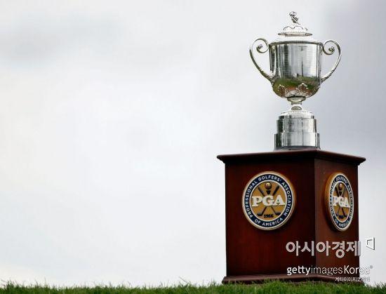 2018시즌 마지막 메이저 PGA챔피언십 우승컵 '워너메이커'