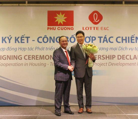 롯데건설, 베트남 현지 공동주택 개발사업 공동투자 협약 체결