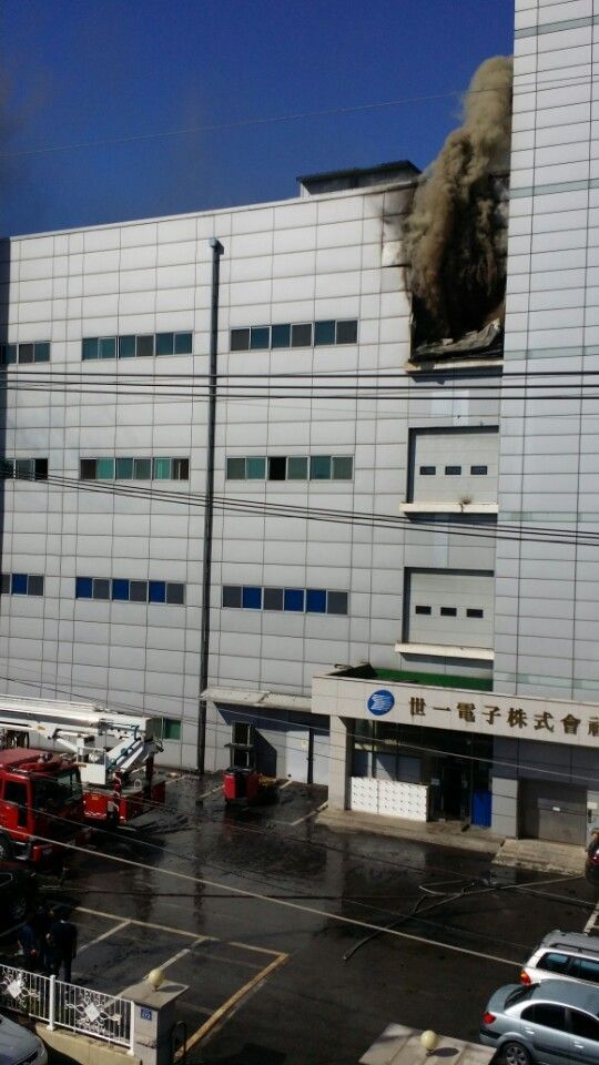 Incheon Namdong Industrial Complex Sail Electronics Fire Department [이미지출처=인천소방본부]
