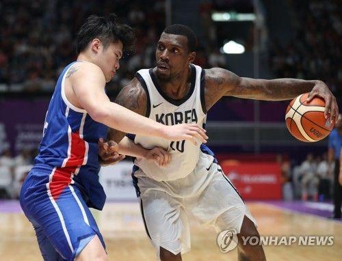 '리건아 37득점' 남자 농구, 대만 꺾고 동메달 획득