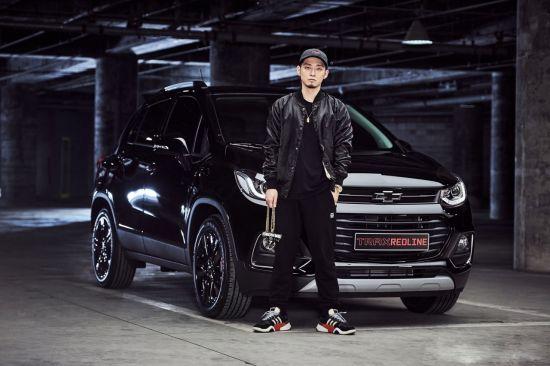 래퍼 '더 콰이엇', 쉐보레 트랙스 레드라인 1호차 계약