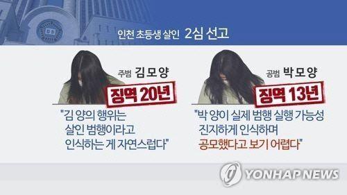 '인천 초등생 살인사건' 범인들 최후 진술…