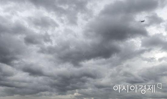 [포토] '비구름 사이'