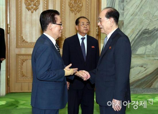 """박지원 """"김여정, 판문점 회담 직전에 출산"""""""