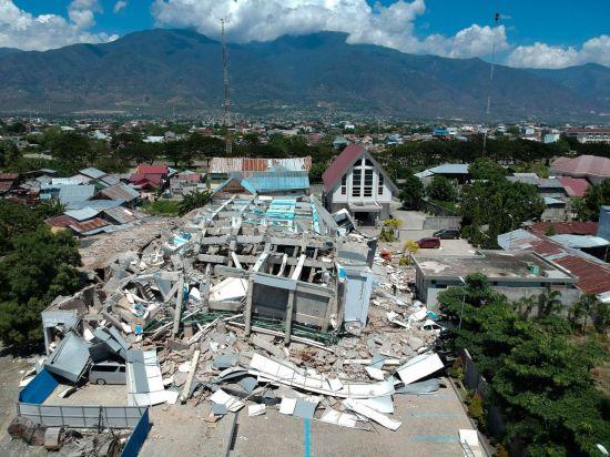 정부, '지진·쓰나미 피해' 인도네시아에 100만弗 지원