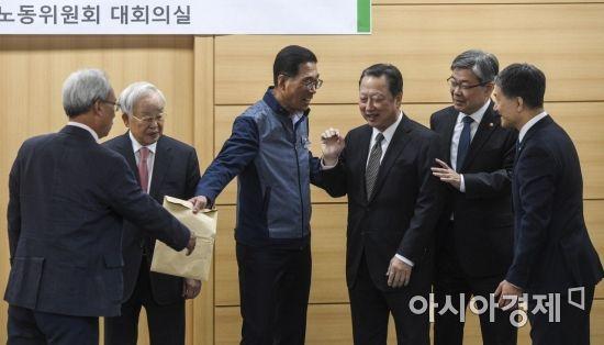 [포토] 화기애애한 노사정 대표자들