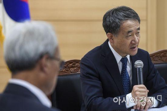 [포토] 모두발언하는 박능후 장관