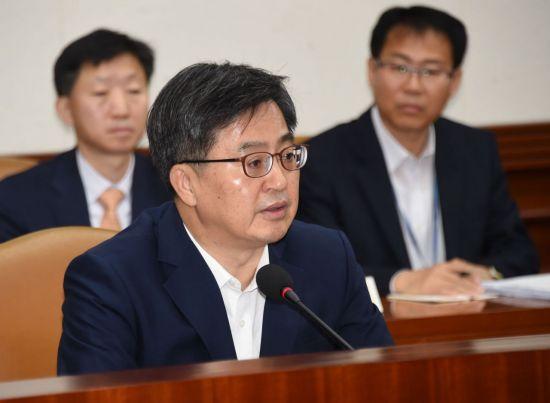 검찰, '심재철 업무추진비 공개' 김동연 부총리 수사…형사4부 배당