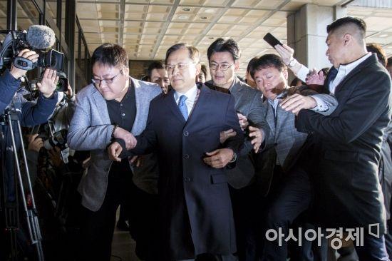 사법농단 관련 박병대 전 대법관 검찰 소환
