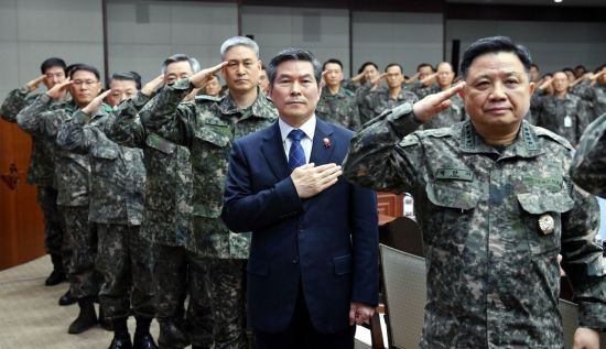 <h1>정경두 국방장관 취임 후 첫 전군지휘관회의(종합)</h1>
