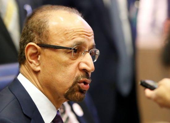 [포토]OPEC 회의 참석하는 사우디 석유 장관