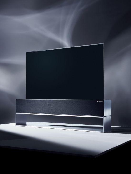 [CES2019]LG 롤러블 올레드 TV,  CES '최고 TV' 선정