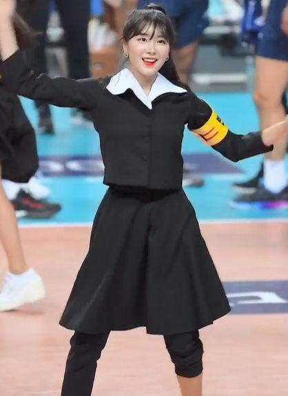[포토] 안지현 치어리더 상큼뽀짝 '춤사위'