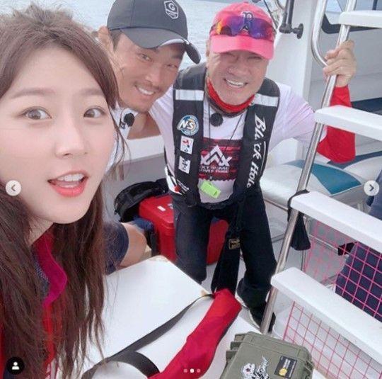 김새론 '도시어부' 출연 인증샷…한층 더 예뻐진 미모