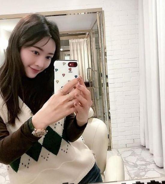 [포토] 홍수아 '판빙빙 닮은 꼴'