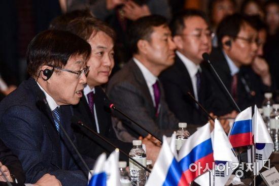 [포토]모두발언하는 김영주 한국무역협회장