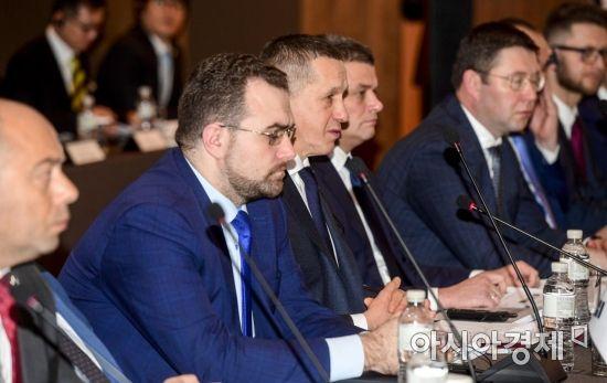 [포토]트루트네프 러시아 부총리 모두발언