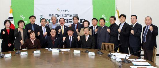 """국회 찾은 '5월 단체장' 4인 """"한국당 해체운동할것...지만원 구속수사"""""""
