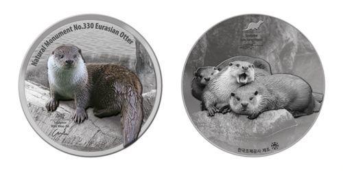 문화재연구소·조폐공사, 수달 기념메달 판매