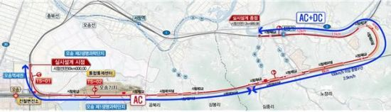 충북 청원군~세종 전동면 '13km 철도종합시험선로' 준공…기술개발 촉진
