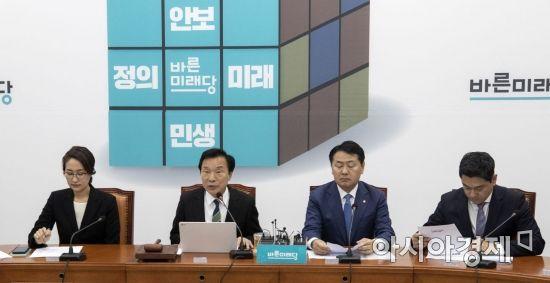 """손학규, 최고위 '보이콧' 하태경·이준석·권은희에 """"해당행위"""""""