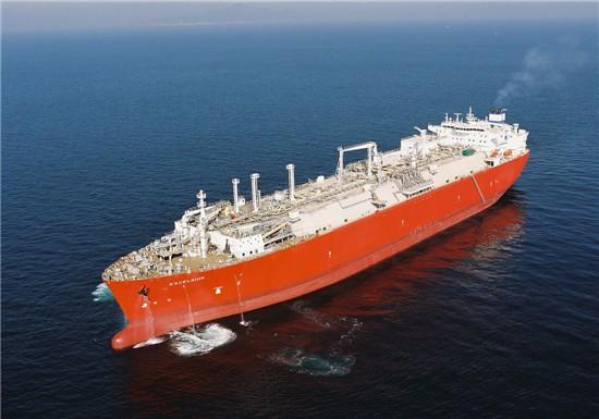 대우조선해양이 건조한 LNG-RV선