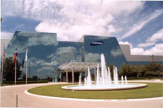 삼성전자 미국 텍사스 오스틴 공장 전경.