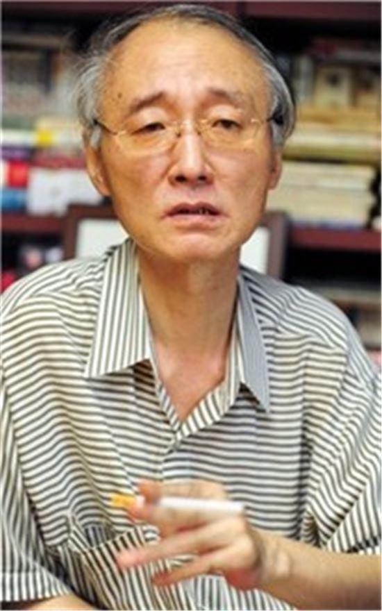 마광수 연세대 교수.