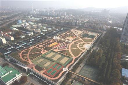 탄천물재생센터 전경 (사진=서울시 제공)