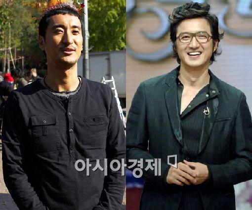 영화 '조지와 봉식' 신현준(왼쪽), 정준호