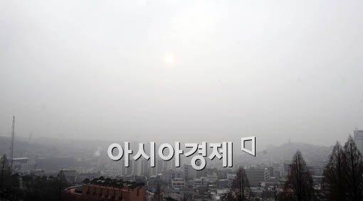 [날씨]사흘째 안개··밤에 비 그친 뒤 황사