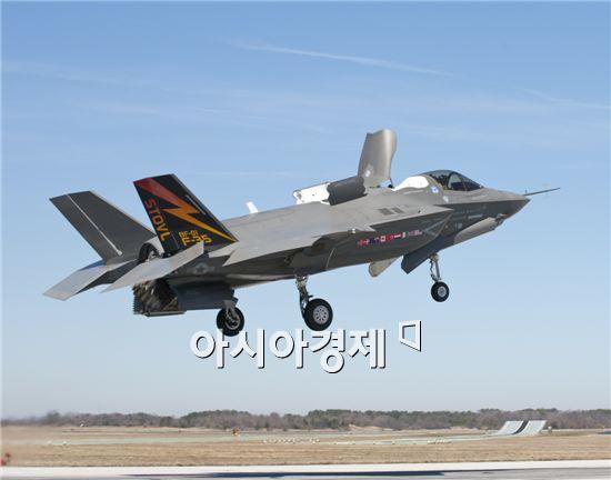 대민이 미국에 판매를 간절히 원하는 F-35B 스텔스 전투기