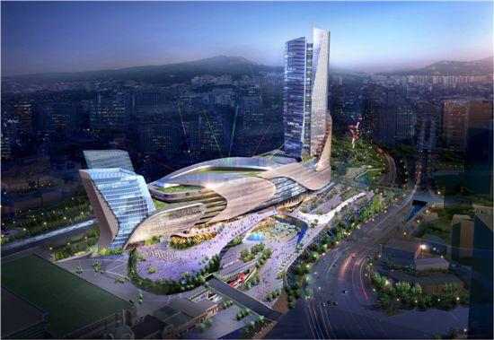 서울역 북부역세권개발사업 조감도.