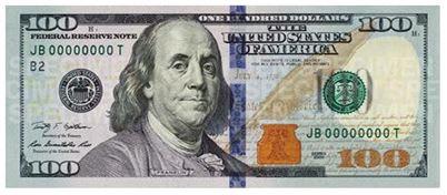 미 100달러 신권