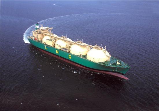 현대중공업이 건조한 13만7000㎥급 구형 LNG선