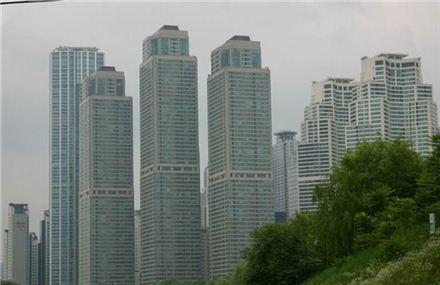 서울 강남구 도곡동 타워팰리스 전경(아시아경제DB)