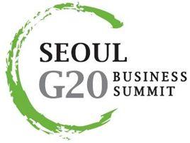서울 G20 비즈 서밋 홈페이지 오픈과 심벌 공개
