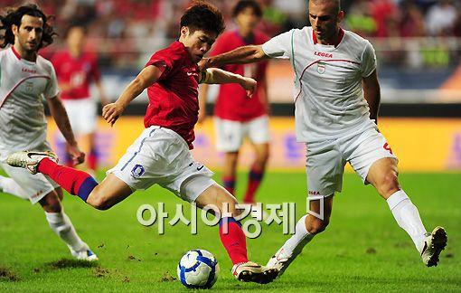 한국 축구, FIFA 랭킹 40위로 4계단 '상승'